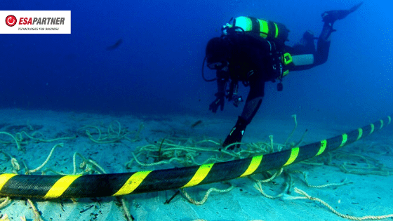 South Africa is waiting for service as the two undersea cables have failed